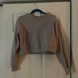 Girlfriend Collective crop sweater